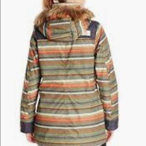 Burton Jackets & Coats - Burton hazel stripe snowboard jacket